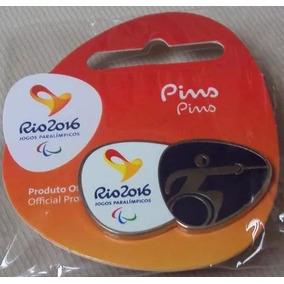 Pin Rio 2016 Oficial - Esgrima Cadeira Rodas Paralimpico