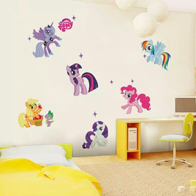 Decoracion Calcamonias Pared My Little Pony! Envio Gratis