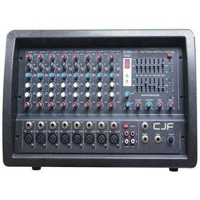 Consola Mixer Potenciada Moon 5508 9 Canales 800w C/ Efectos