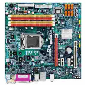Kit Placa Mãe 1156 Ecs H55+ Intel Core I3-550 3,2 Ghz+ 8 Gb
