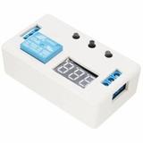 Temporizador Multifuncion Con Carcaza 12vdc - Programable