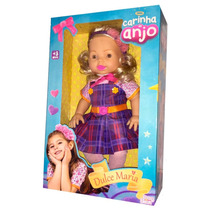 Boneca Dulce Maria Carinha De Anjo - Baby Brink