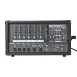 Consola Potenciada Phonic 620plus 200w + 2 Bafles 15 +cables