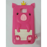 Case Samsung Galaxy S2 I9100 - Baby Pig Pink