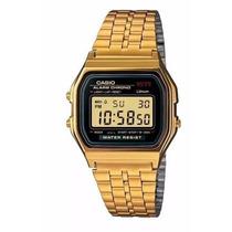 Relógios Classico Retrô Vintage Dourado Elegante