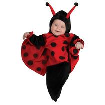 Disfraz Bebé Niña Mariquita Catarina 6-9 Meses