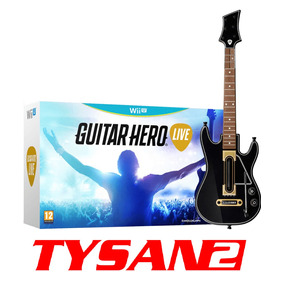 Guitar Hero Live Wii U Rock Band Guitarra + Game En Stock Ya