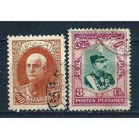76 - Persia - Irá - 2 Selos Antigos - No Compre Já