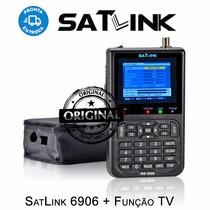 Satlink Ws-6906 Dvb-s Localizador Satélite - Super Promoção