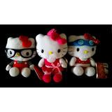 Muñecos Peluche Hello Kitty Originales Lente Antiparras Moño