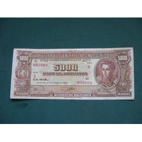 Billete Bolivia 5000 Bolivianos # 150