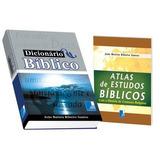 Dicionário Bíblico+atlas De Estudo
