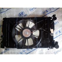 Conjunto Radiador Condensador Ventoinha Toyota Corolla 09...