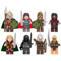 Señor De Los Anillos Eomer El Hobbit Compatible Con Lego