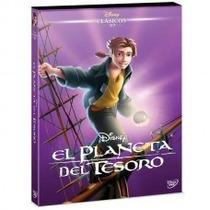 Pelicula El Planeta Del Tesoro Disney Diamante Dvd