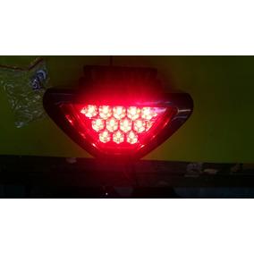 Luz De Stop Tipo Fórmula 1 Doble Función Fijo Y Estrobo Rojo