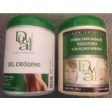 Gel Criógeno X1kg + Crema Masajes Reductores Dra Duval X 1kg