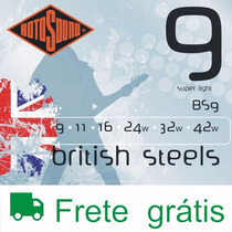 Frete Grátis - Rotosound Guitarra Bs9 - W Music