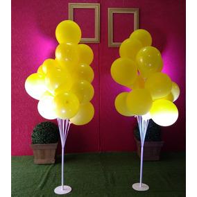 Suporte P/balão/bexiga Kit Com 2 Pç P/15 Balões Frete Grátis