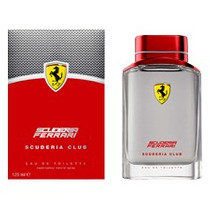 Perfume Ferrari Scuderia Club Edt 125ml