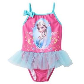 Traje De Baño Disney Frozen Talla 2 Años