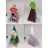 Cone Pirâmide Personalizado Todos Temas Safari Circo Realeza