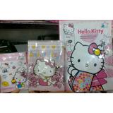 Agendas De Hello Kitty Con Bolígrafo Mediana, Grande Y Peq
