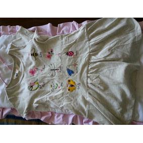 Vestido De Algodon C Dibuj O S Importado