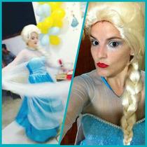 Fantasia Elsa Frozen Adulto