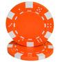 50 Fichas De Poker Suelta Naranja, Rosado, Amarillo