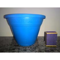 20 Vasos De Parede Azul Claro Orquídeas Plantas Jd Vertical