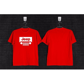 Remera Jeep +calco De Regalo