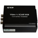Convertidor Video A Scart Rgb