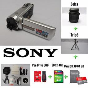 Filmadora Camera Sony Sdx 21 Zoom Ótico 67x +5 Brindes