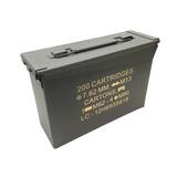 Caixa Metalica Munição Militar Paintball Ammo Box Nautika