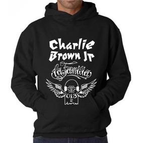 Blusa Charlie Brown Jr. Moletom Canguru - Pronta Entrega!