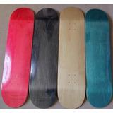 Kit 2 Shape Skate Liso Colorido Com Lixa.mercado Envio .
