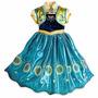 Fantasia Frozen Anna Fever - Tam 5/6 E 7/8 Anos - Promoção!