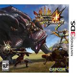 3ds Monster Hunter 4 Ultimate - Nueva Y Sellada