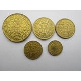 Monedas Del Peru Serie Completa Casa De La Moneda Lima 1965