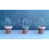 Púa Cardón (cactus Artificiales De Alambre De Púas)