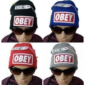 d1862c0e8de04 Toucas Gorros Obey - Toucas Masculino no Mercado Livre Brasil