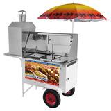 Carrinho Combo Churrasco Lanche E Hot Dog Armon Chlcl012