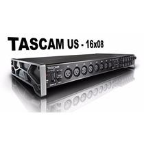 Tascam Us- 16x08 Usb Audio Interface Mic Envio Gratis