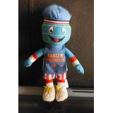 Peluche Harlem Globetrotters Mascot Globie Basketball Sport