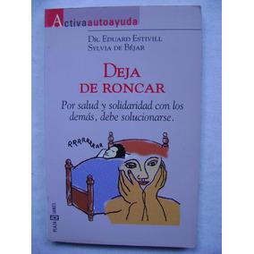 Deje De Roncar - Dr. Eduard Estivill