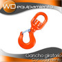Gancho Giratorio Con Rodamientos Yoke - 10 Ton. (inc. Imp)
