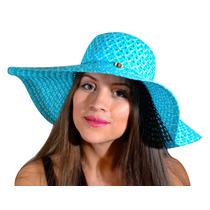 Sombrero De Playa Para Mujer De Ala Larga