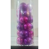 Esferas Navideñas De Cristal Soplado 23 Pzas.
