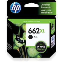 Cartucho Original Hp 662xl Black E 662xl Color Lacrado